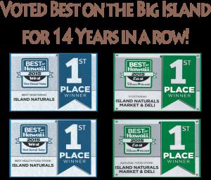Voted Best on Big Island!